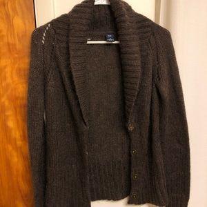 Gap Brown Cardigan Sweater